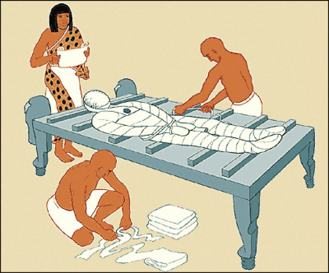 the egyptian process of mummification Mummification was a process undertaken by the ancient egyptians they believed that by preserving a body, its soul could live on in the afterlife embalmers offered various packages, which included a basic, standard and luxury version.